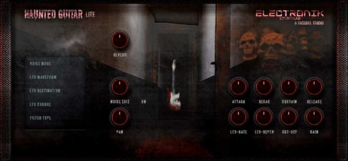 Haunted Guitar v1.0 [WiN-OSX] RETAiL-SYNTHiC4TE
