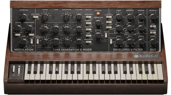 Model 72 Synthesizer System v2.5.9-R2R
