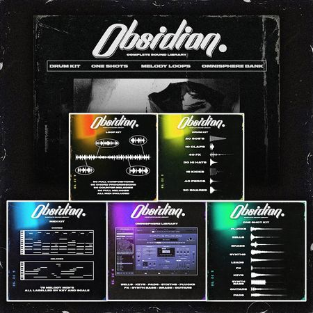 Obsidian Complete Sound Library MULTiFORMAT