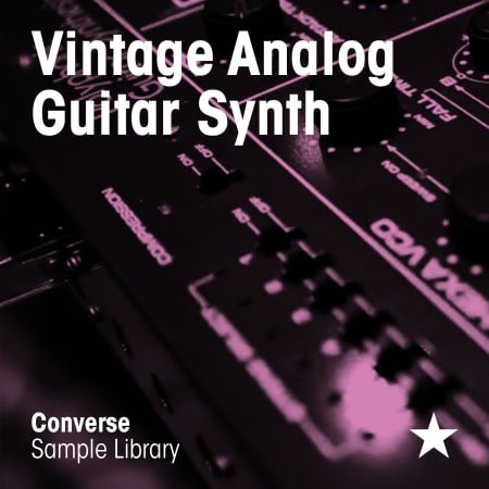 Vintage Analog Guitar Synth WAV-FLARE