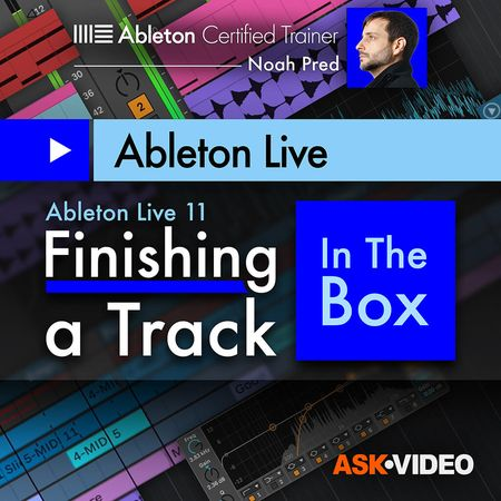 ableton live 11 finishing a track in the box