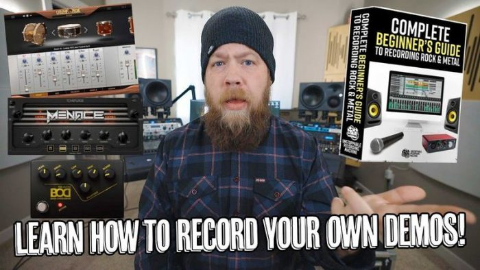 Beginners Guide to Recording Rock And Metal TUTORiAL