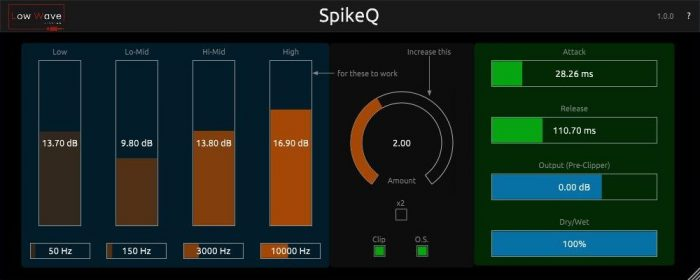 spikeq v1.0.0 vst3 au win mac [free]