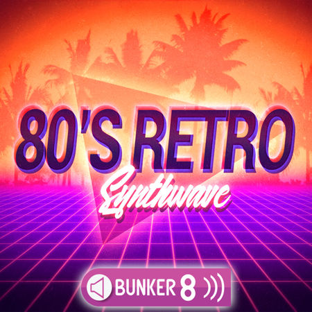 80s retro synthwave multiformat