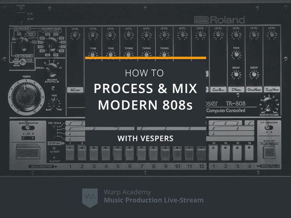 how to process mix modern 808s tutorial
