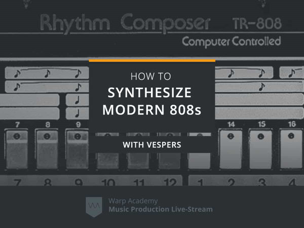 how to synthesize modern 808s tutorial