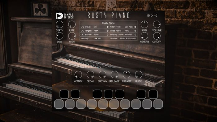 rusty piano v1.0 vst au win mac [free]