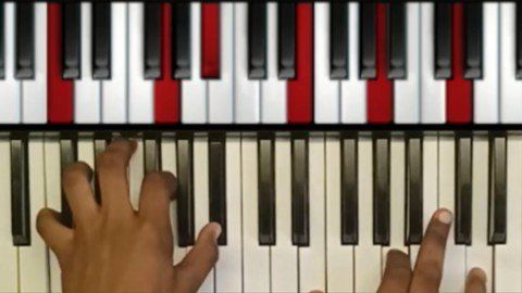 play piano or keyboard tutorial