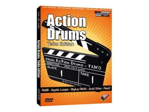 Action Drums Taiko Edition MULTiFORMAT