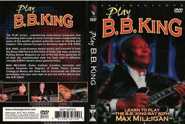 ArtsMagic Play B.B. King Max Milligan DVD