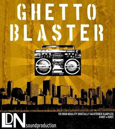 Ghetto Blaster WAV AiFF Apple Loops REX
