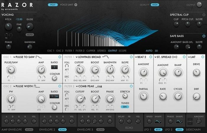 Xenos Soundworks Electrotones Patchs For Razor