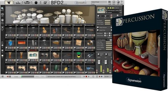 BFD, Percussion, Expansion, Pack, HYBRiD, DVDR, AiRiSO