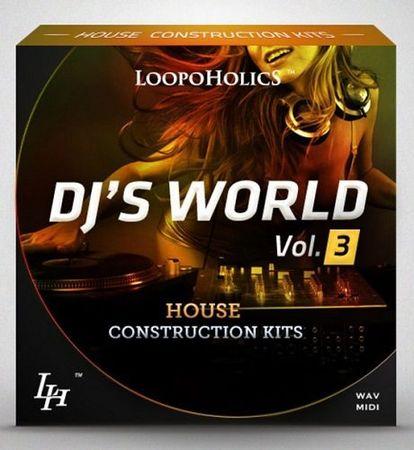Dj's World Vol.3 House Construction Kits WAV MIDI