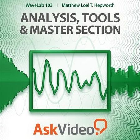 WaveLab 103 Analysis Tools and Master Section TUTORiAL
