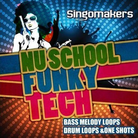 Nu School Funky Tech WAV MiDi REX2