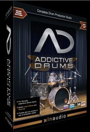 XLN Audio Addictive Drums (AiR) with All Updates with All ADpaks