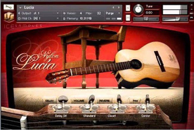iCe Samples Guitar Nylon Lucia KONTAKT