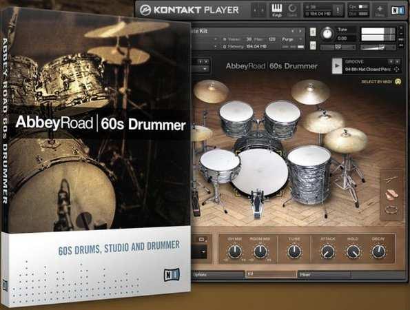 Abbey Road 60s Drums KONTAKT DVDR