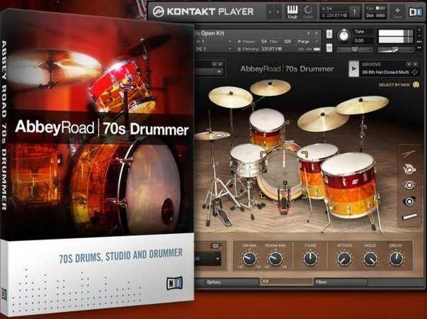 Abbey Road 70s Drummer KONTAKT DVDR