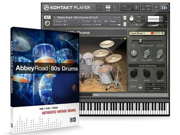 Abbey Road 80s Drummer KONTAKT DVDR