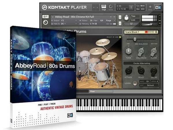 Abbey Road 80s Drums KONTAKT DVDR