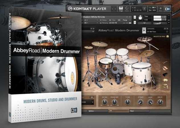Abbey Road Modern Drums KONTAKT DVDR