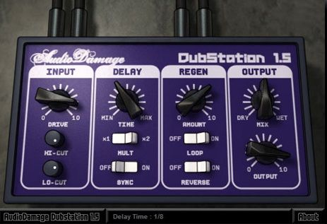 Audio Damage DubStation v1.5.2 WIN & OSX