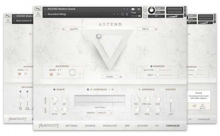ASCEND Modern Grand (KONTAKT) 1 preset Unlocked