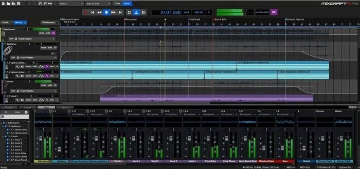 MixCraft Pro Studio 9 v9.0.b462 Incl Keygen-R2R