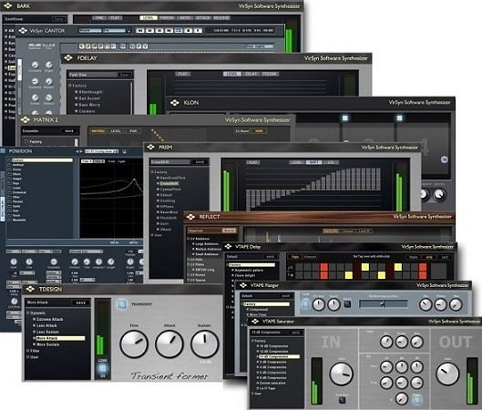 VirSyn VSTi VST RTAS PlugIns Pack WiN