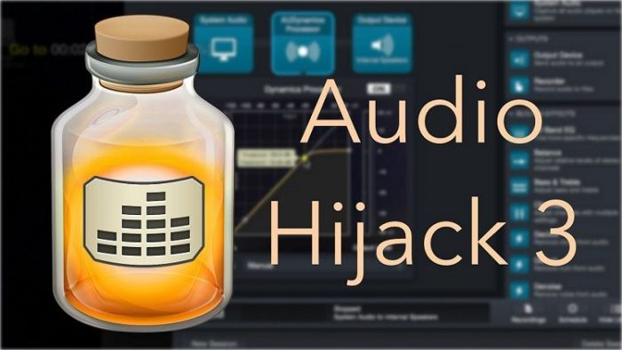 Amoeba Audio Hijack v3.8.0 MacOSX-HCiSO