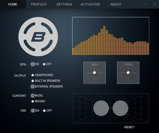 Acoustics DPS Audio Enhancer
