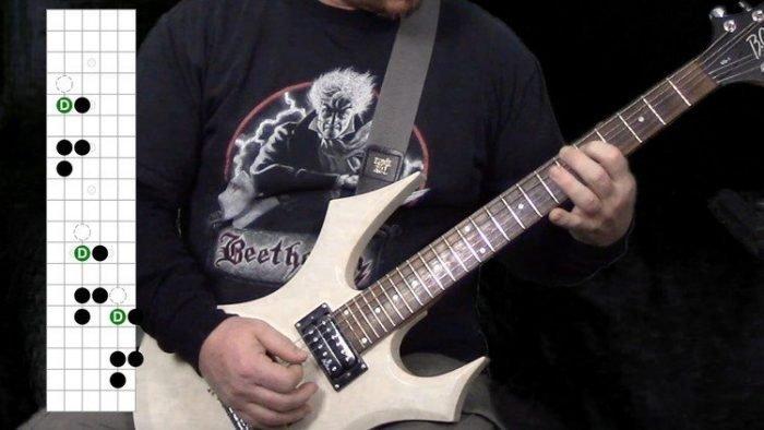 Classical Metal Guitar You Can Actually Play TUTORiAL