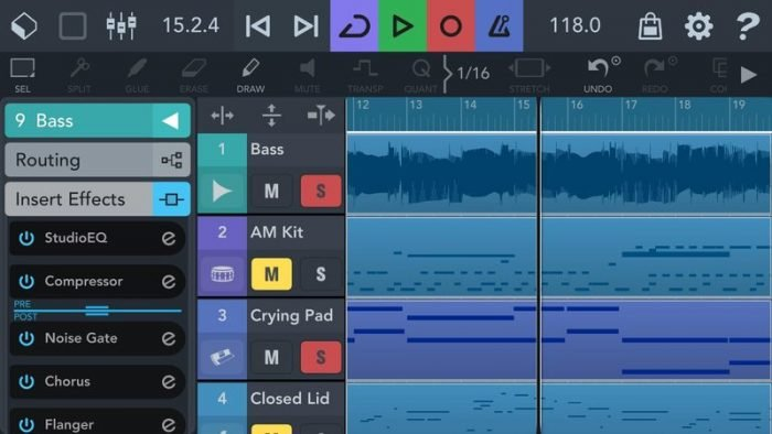 Cubasis 3 - Music Studio and Audio Editor v3.1.1