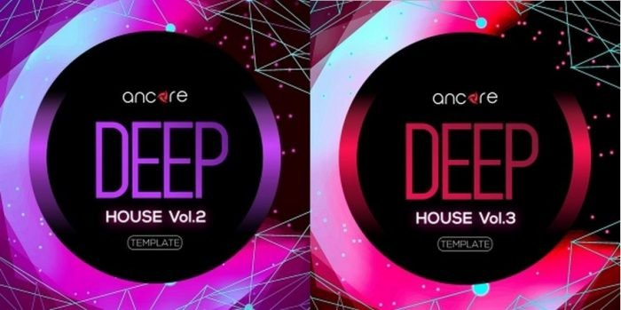 Deep House Volume 2-3 For LOGIC PRO X-DISCOVER