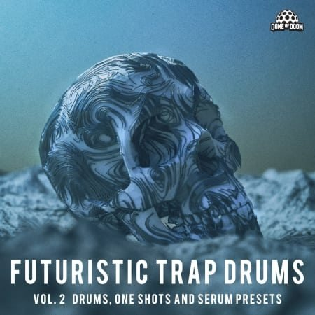 Futuristic Trap Drums Vol. 2 WAV