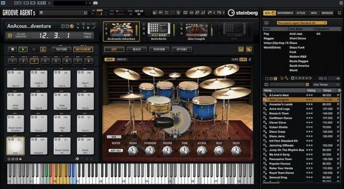 Groove Agent 5 v5.0.20.207 MAC