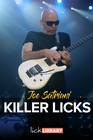 Joe Satriani Killer Licks Pack