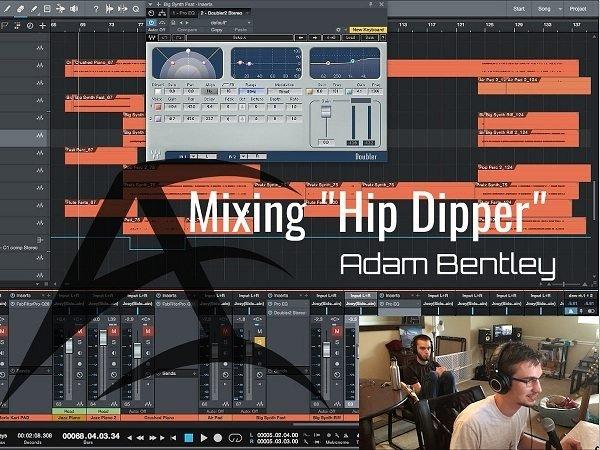 Mixing Hip Dipper with Adam Bentley + Stems TUTORiAL