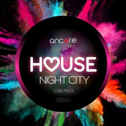 Night City House For LOGIC PRO X-DISCOVER