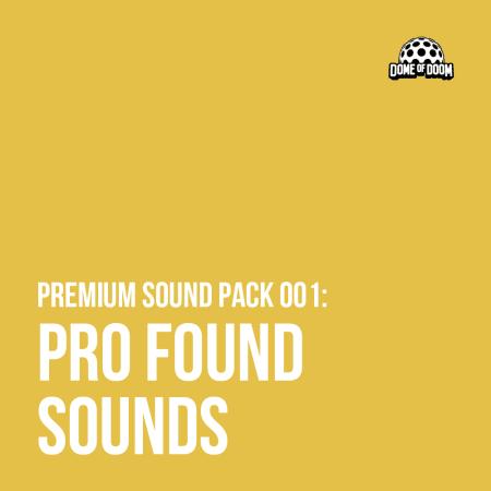 Pro Found Sounds Vol. 1 WAV