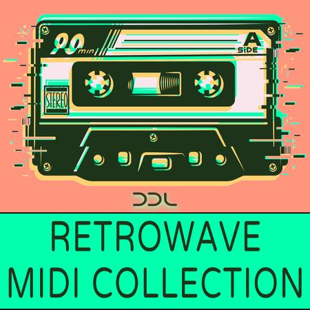 Retrowave Midi Collection MiDi-DISCOVER