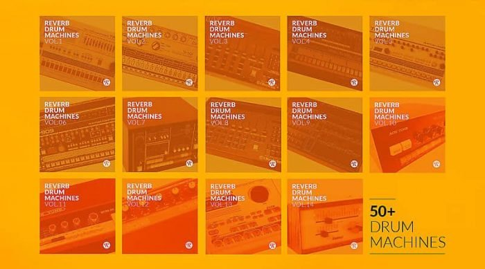 Reverb Drum Machines Complete Collection WAV