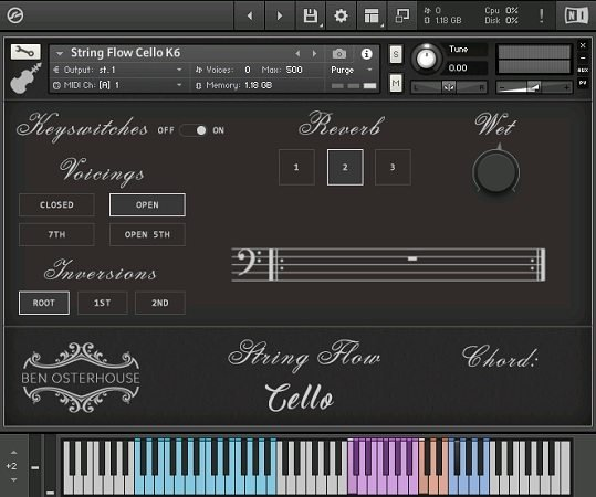 String Flow Cello v1.3.1 KONTAKT