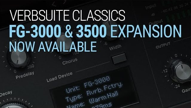 Verbsuite Classics FG-3000 & 3500 Expansion Pack v1.0.0.4 WiN MAC