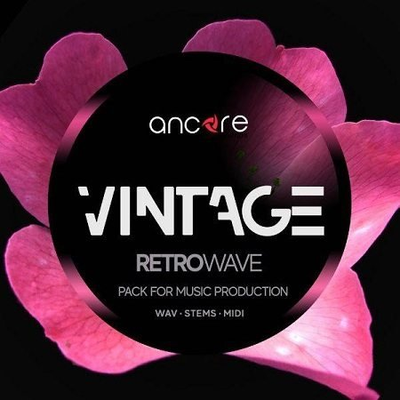 Vintage Retrowave Pack WAV MiDi SYNTH PRESETS-DISCOVER