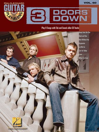 3 Doors Down Guitar Play-Along Volume 60 PDF