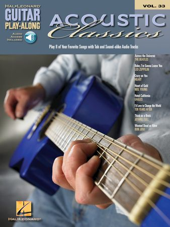 Acoustic Classics Guitar Play-Along Volume 33 PDF
