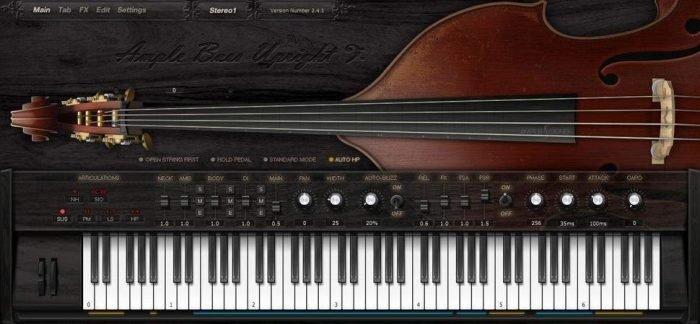 Ample Bass Upright v3.3.0 WiN MAC